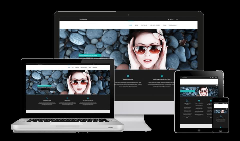 création et conception de design de site web personnalisés avec boutique en ligne à montreal