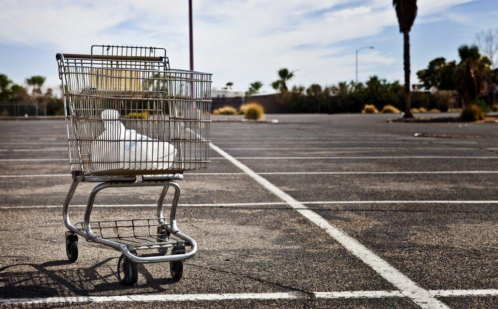 abandon du panier lors de l'achat en ligne