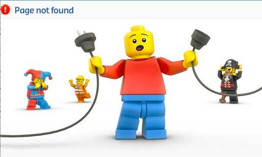 proposez à vos visiteurs une meilleure page 404 erreur non trouvé