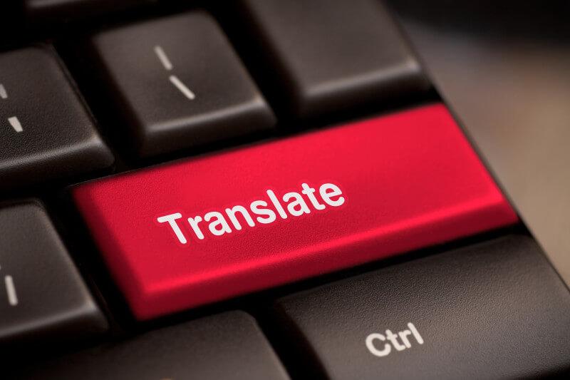 traduire un site internet